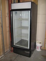 Beverage Air single glass door merchandiser