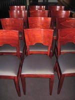 "(4) GAR Products 18"" Joe chairs"
