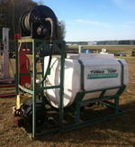 Turbo Turf hydro seeder