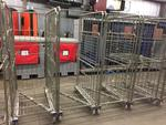 METAL FOLDABLE STOCK CARTS, 30