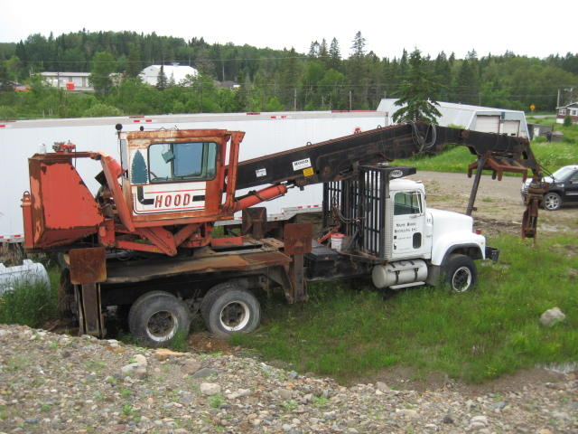 LOG LOADERS-TRUCKS-CHIP TRAILERS-SHOP EQUIPMENT-TRUCK SCALE Auction