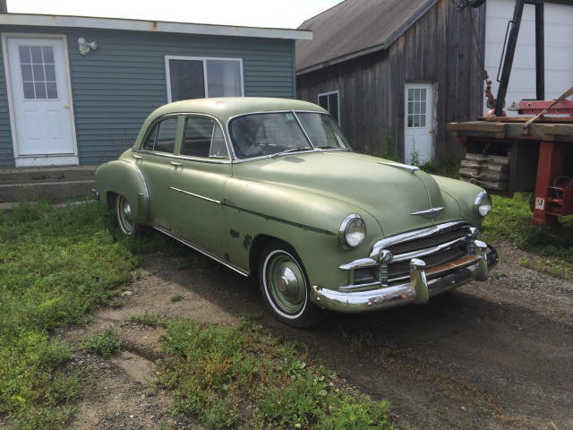 TIMED ONLINE AUCTION 1950 CHEVY DELUXE, ICE SHACK, SHOP EQUIPMENT Auction