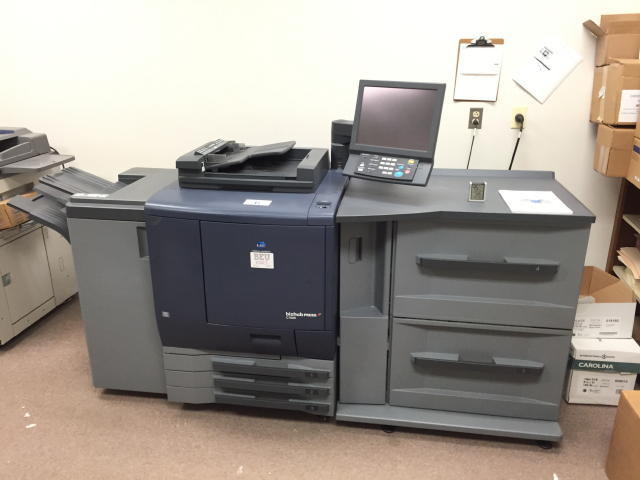 TIMED ONLINE AUCTION PRINT SHOP EQUIPMENT - APPLE COMPUTERS - COPIERS Auction