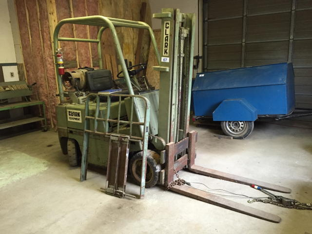 TIMED ONLINE AUCTION SHEET METAL SHOP EQUIPMENT - FORKLIFT - WELDERS Auction