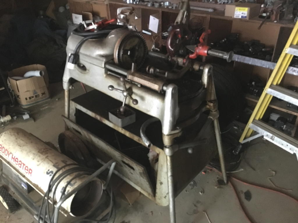 TIMED ONLINE AUCTION RIDGID 535 PIPE THREADER - ELECTRICAL INVENTORY Auction