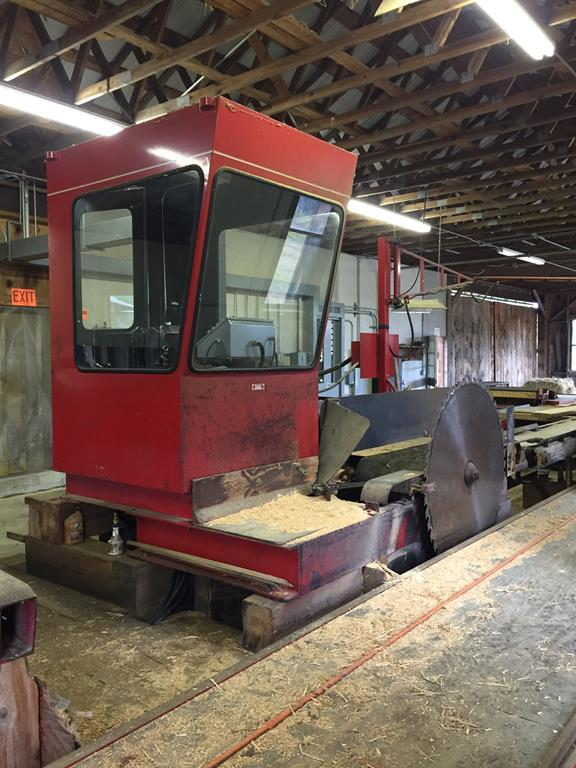 TIMED ONLINE AUCTION SAWMILL & SUPPORT EQUIPMENT - CAT DOZER - TRUCKS Auction