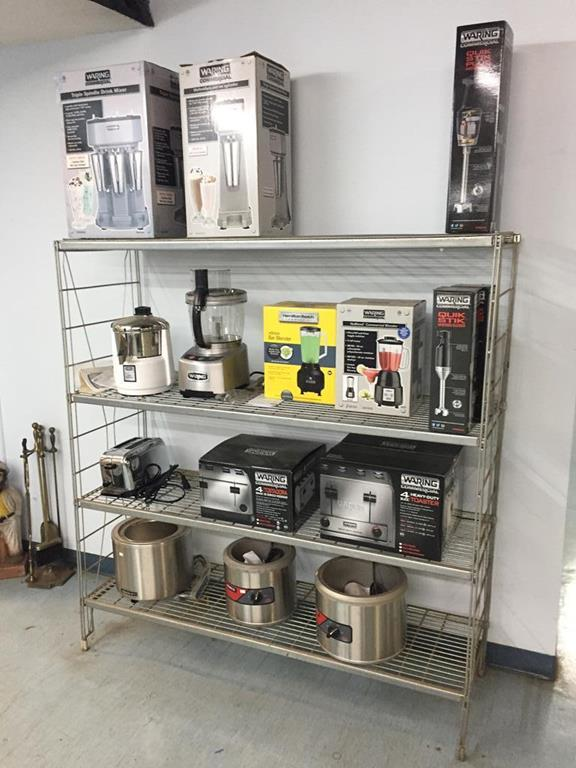 TIMED ONLINE AUCTION SESSION 1:  NEW RESTAURANT EQUIPMENT INVENTORY Auction