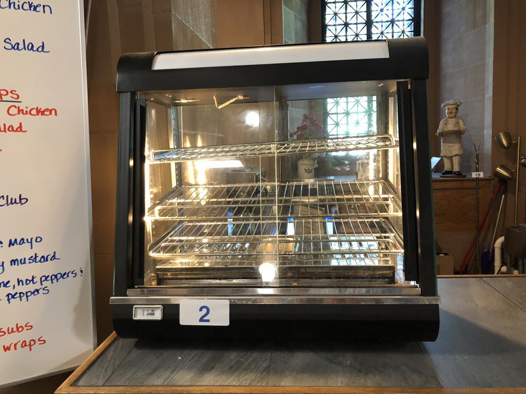TIMED ONLINE AUCTION CAFE & REFRIGERATION EQUIPMENT - FURNITURE Auction