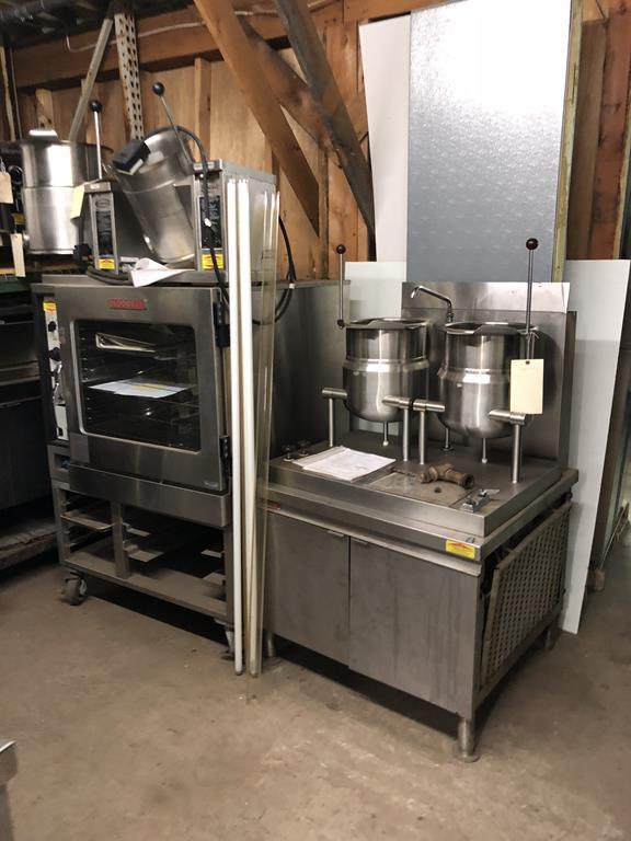 (2) IMPORTANT RESTAURANT EQUIPMENT AUCTIONS Auction