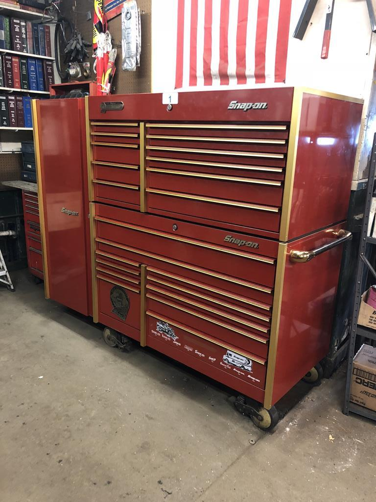 PUBLIC TIMED ONLINE AUCTION AUTO REPAIR EQUIP - SNAP-ON BOXES - LIFTS Auction