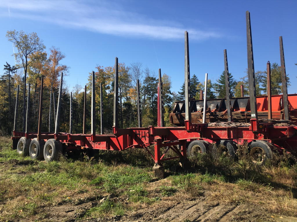 TIMED ONLINE AUCTION LOG TRAILERS - DEBARKER - VEHICLES - LOG SCALING Auction