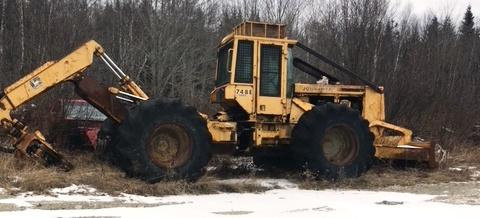 PUBLIC TIMED ONLINE AUCTION BACKHOE - LIFTS - SKIDDER- PLOW TRUCK     Auction