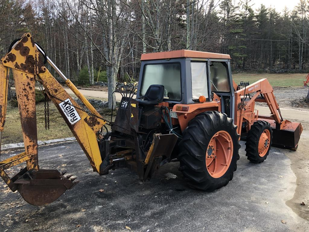 TIMED ONLINE AUCTION CRAWLER LOADER, DOZER, 4WD TRACTORS, SHOP EQUIP.  Auction