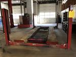 TIMED ONLINE AUCTION (10) ROTARY LIFTS - FORKLIFTS - PARTS SHELVING Auction