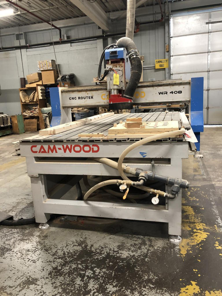 TIMED ONLINE AUCTION COMMERCIAL WOODWORKING EQUIPMENT Auction