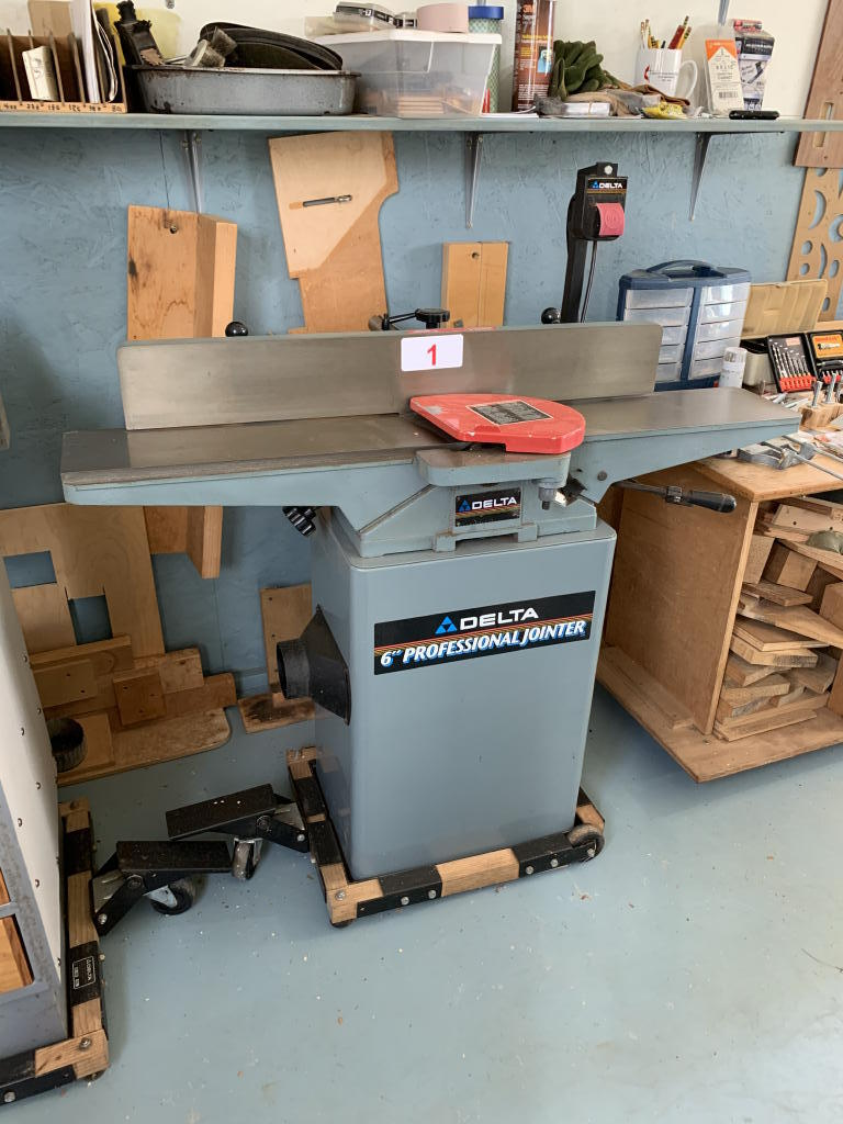 TIMED ONLINE AUCTION WOODWORKING & SUPPORT EQUIPMENT - HAND TOOLS Auction