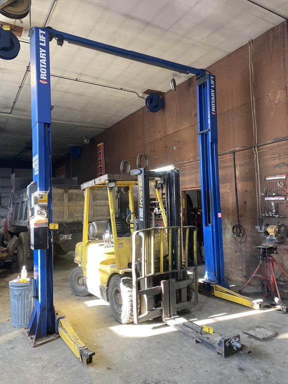 SECURED PARTY'S SALE BY TIMED ONLINE AUCTION AUTOMOTIVE EQUIPMENT Auction