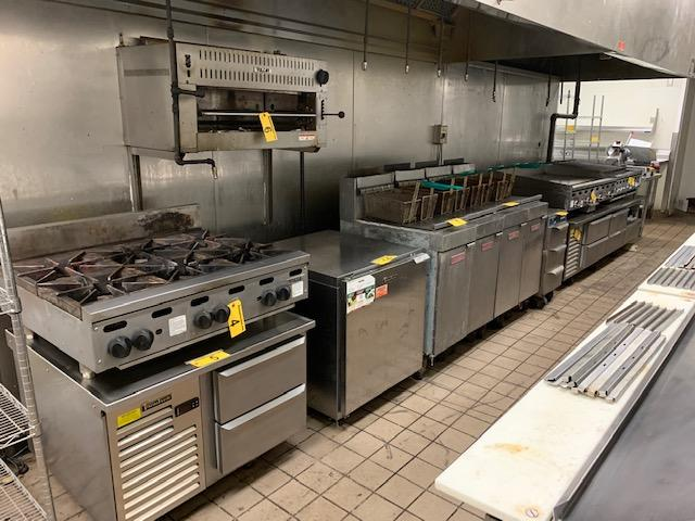 TIMED ONLINE AUCTION SPORTS BAR & RESTAURANT EQUIPMENT - 191 SEATING Auction