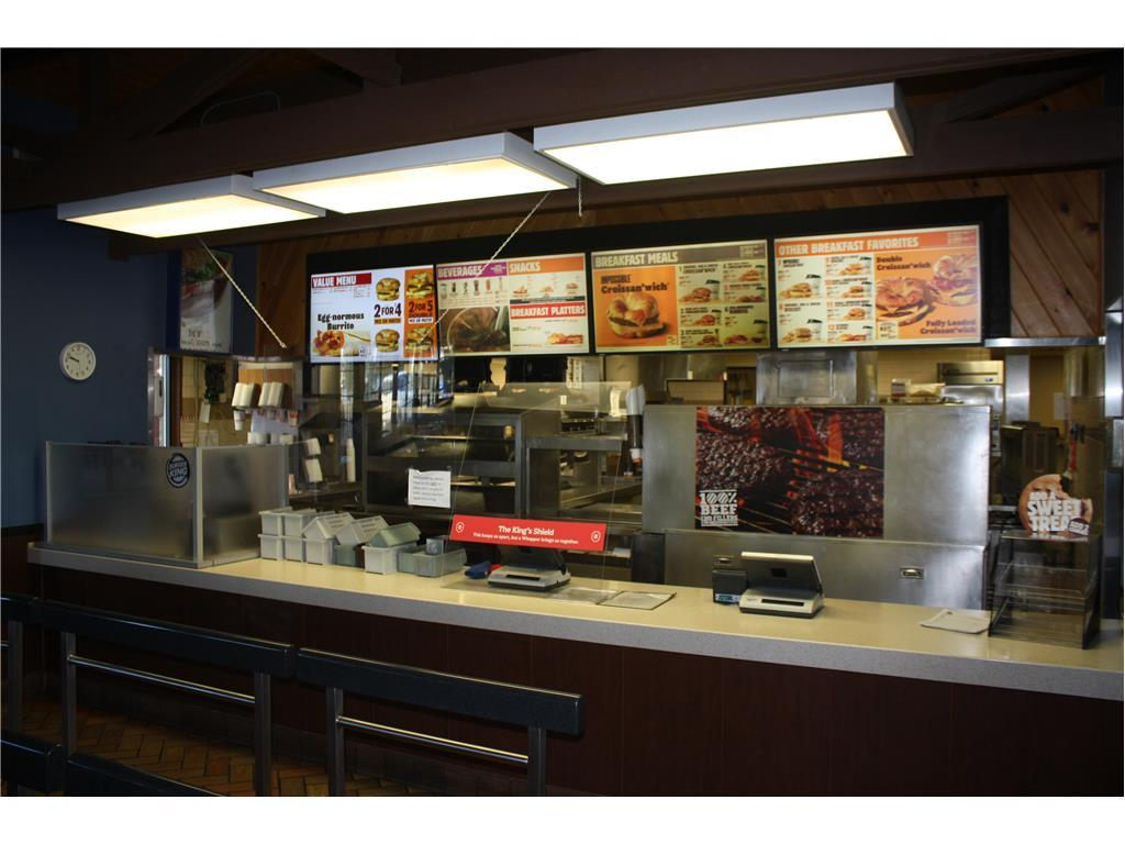 SECURED PARTY SALE BY TIMED ONLINE AUCTION, CONTENTS OF 4-BURGER KING RESTAURANTS  Auction