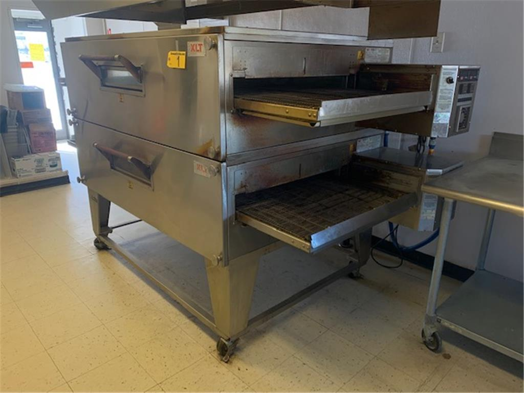 TIMED ONLINE AUCTION PIZZA OVEN, HOOD, WALK-IN, HOLDING CABINETS Auction