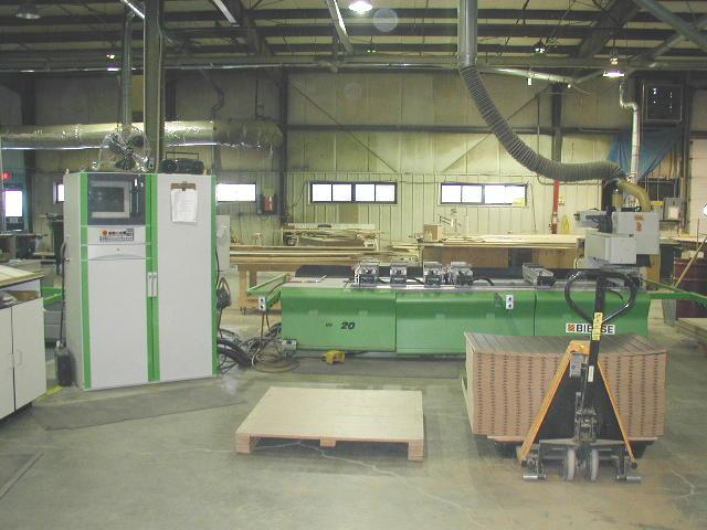 Late Model Woodworking Equipment Inventory Office Equipment Auction