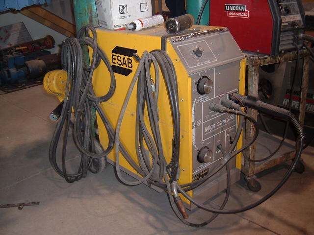 Auction 06 74 Esab Migmaster 250 Welder Secured Party S