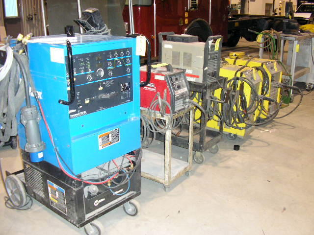 Secured Party S Sale Welding Shop Equipment Spray