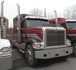 TIMED ONLINE AUCTION (3) 2007 INTERNATIONAL ROAD TRACTORS - TRAILER Auction Photo