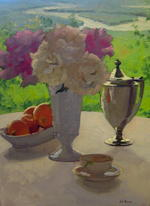 TIMED ONLINE AUCTION 14 Pieces of Fine Art - Paintings by Dennis Perrin Auction Photo