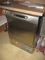 2009 Hobart Model LXi H under counter dish washer