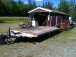 4-PLACE SNOWMOBILE TRAILER