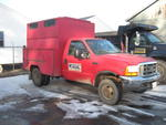 1999 FORD F350 XLT SUPER DUTY 4WD SERVICE TRUCK