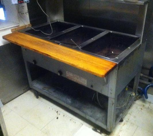 Auction BAY STEAM TABLE RESTAURANT EQUIPMENT AUCTION - Restaurant equipment steam table