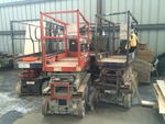 JLG TELEHANDLERS - FORKLIFTS - SCISSOR LIFTS - EXCAVATOR - BUILDING MATERIALS Auction Photo