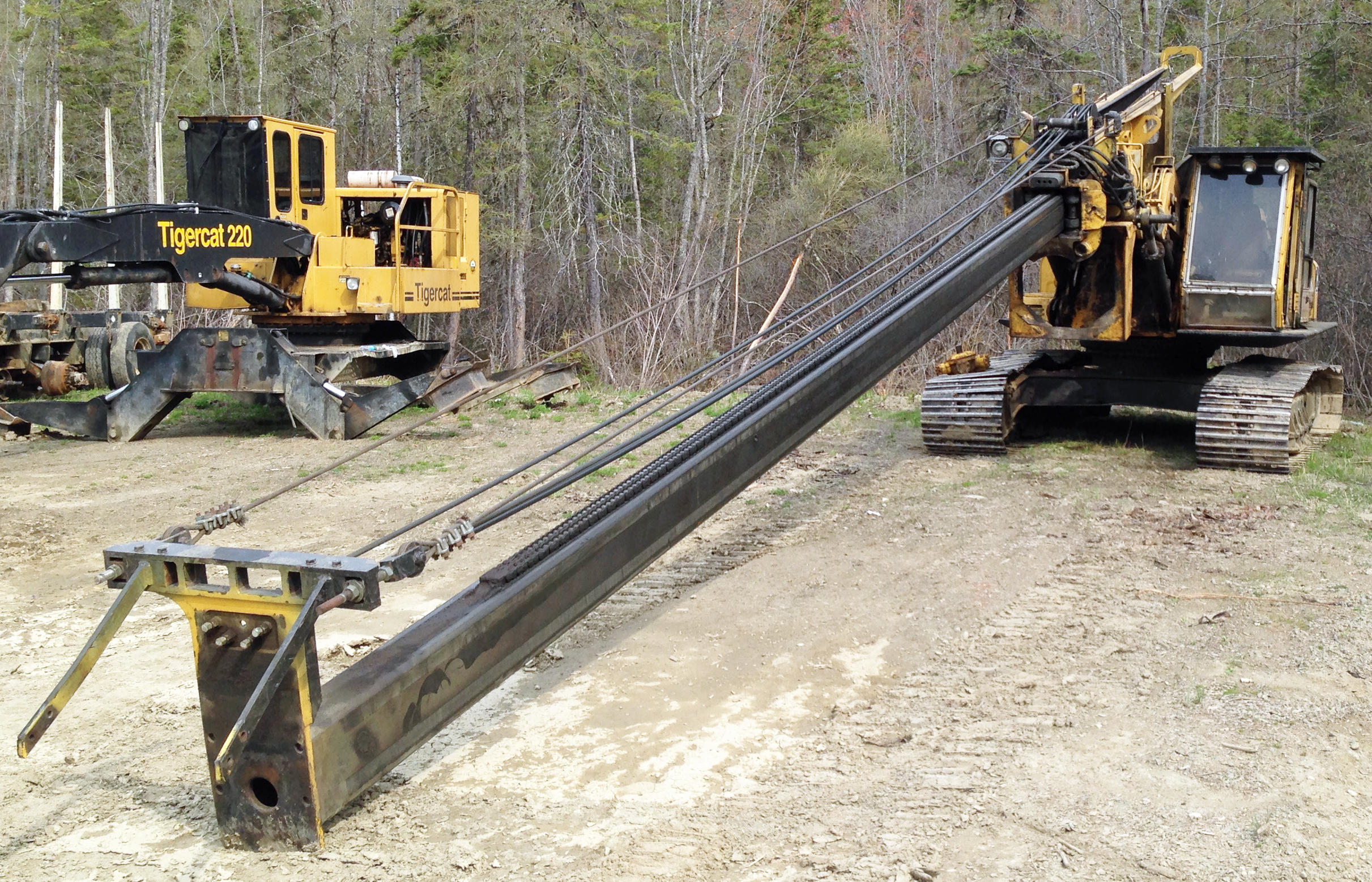 TIMED ONLINE AUCTION LATE MODEL FORESTRY EQUIPMENT Auction