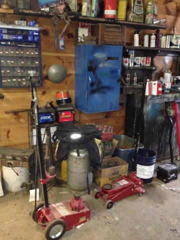 Automotive Repair Equipment Forklift Shop Equipment