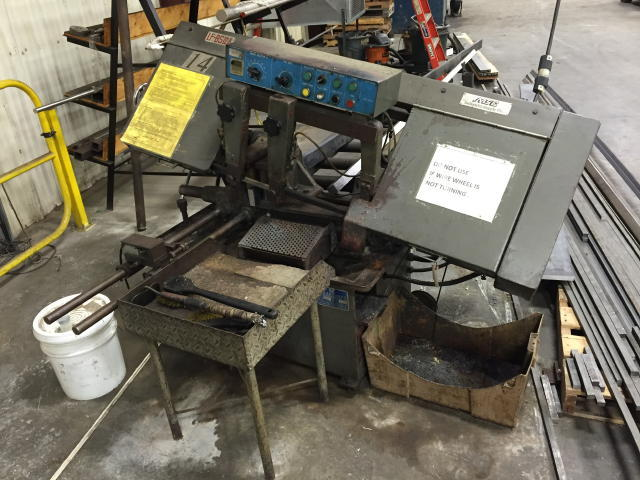 Auction 15-368 - MSC Band Saw - SECURED PARTY SALE BY PUBLIC