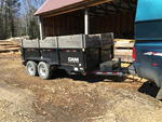2013 CAM SUPERLINE DUMP TRAILER