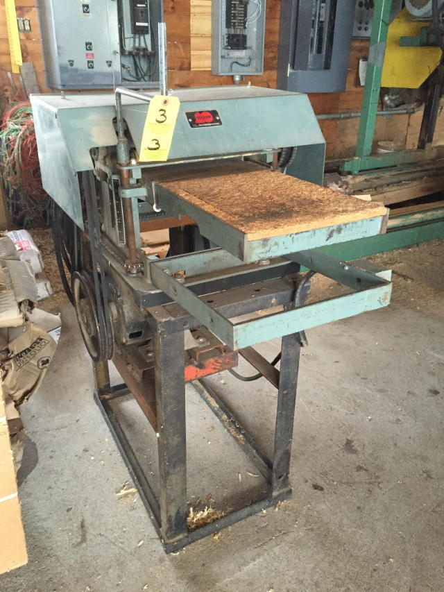 Timed Online Auction Sawmill Amp Support Equip Baker 4