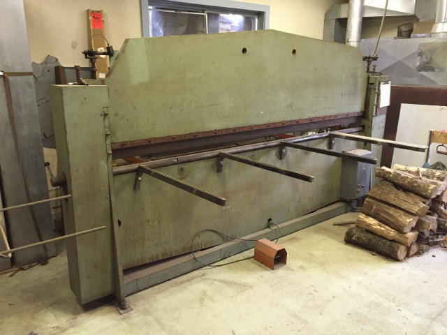 Auction 16-115 - ROTODIE 10' HYDRAULIC PRESS BRAKE - TIMED