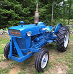 1962 Ford Model 2000 Farm Tractor, Plow Frame, 3-pt. Hitch,