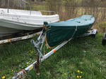 2002 Whitehall Rowing Boat & Trailer