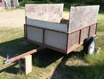 7. Utility Trailer, single axle