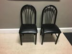 FAN BACK DINING CHAIRS Auction Photo