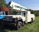 1989 FORD 7800 50FT BUCKET TRUCK