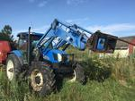 2005 NEW HOLLAND TS135A TRACTOR