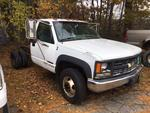 1999 CHEVROLET 3500 CAB-N-CHASSIS