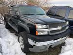 2003 CHEVROLET 2500HD EXT CAB 4WD