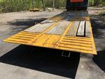 1996 Custom 20-ton tilt deck equipment trailer