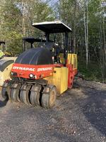 2009 Dynapac Model CP-142 rubber tire roller
